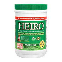 HEIRO Insulin Resistance Supplement for Horses Equine Medical & Surgical