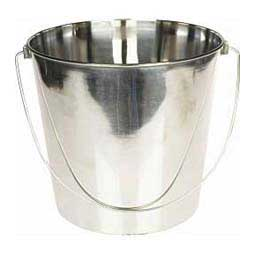 Indoor/Outdoor Stainless Steel Feed & Water Pail Generic (brand my vary)