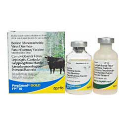 PregGuard Gold FP 10 Cattle Vaccine Zoetis Animal Health