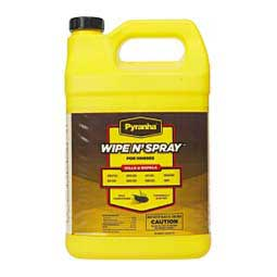 Pyranha Wipe N' Spray Fly Spray for Horses