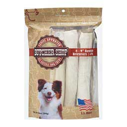 Butcher Shop Rawhide Retrievers Dog Chews Specialty Products