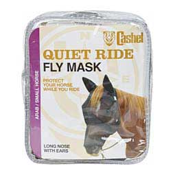 Crusader Quiet-Ride Long-Nose Fly Mask with Ears Cashel