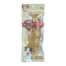 Butcher Shop Spiral Beef Bully Stick Dog Chews  Specialty Products