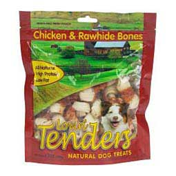 Lovin' Tenders Chicken & Rawhide Bones Dog Treats