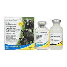 Bovi-Shield Gold FP5 Cattle Vaccine Zoetis Animal Health