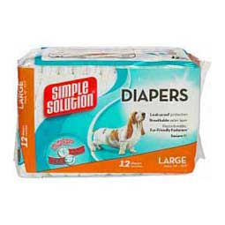 Simple Solutions Disposable Dog Diapers Bramton