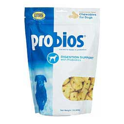 Probios Digestion Support with Probiotics Chewables for Dogs Chr. Hansen