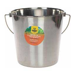 Indoor/Outdoor Stainless Steel Feed & Water Pail Generic (brand may vary)