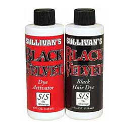 Sullivan's Black Velvet Livestock Hair Dye Kit Sullivan Supply
