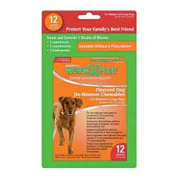 WormX Plus Flavored Dog De-Wormer Chewables Sergeant's