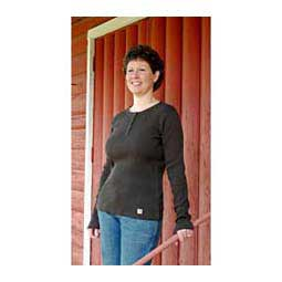 Womens Long Sleeve Henley Carhartt