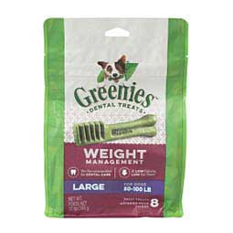 Greenies Weight Management Dental Dog Treats Nutro