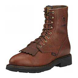Mens Cascade H2O Waterproof Lace-up Work Boots Ariat