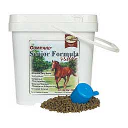 Command Senior Formula Pellets for Horses Brookside Supplements