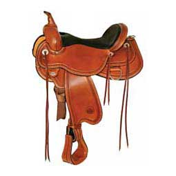 1665 Pioneer Flex 2 Western Trail Horse Saddle