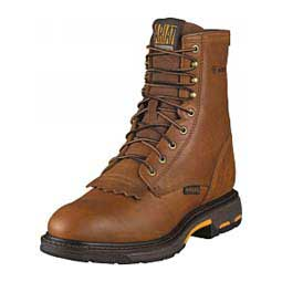 """Mens Workhog Lace Up 8"""" Work Boots Ariat"""