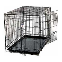 Double Door Wire Dog Crate Miller Manufacturing