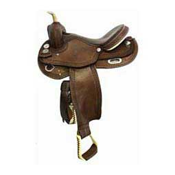 Pleasure Western Horse Saddle Circle P
