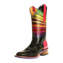 "Technicolor 11"" Cowgirl Boots Cinch Edge"