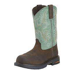 "Womens Tracey Pull-on H2O Comp Toe 9"" Cowgirl Work Boots Ariat Boots & Apparel"