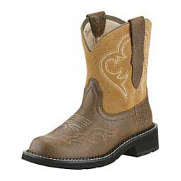 "Womens Fatbaby Heritage Harmony 8"" Cowgirl Boots Ariat Boots & Apparel"