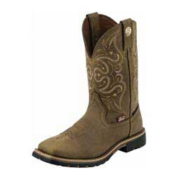 """Waterproof George Strait 11"""" Cowgirl Boots Justin"""