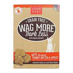 Wag More Bark Less Grain Free Oven Baked Biscuit Dog Treats Cloud Star