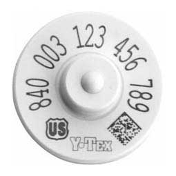840 USDA HDX EID Ear Tags Y-Tex