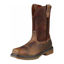 """Mens Rambler Steel Toe Pull-On 10"""" Work Cowboy Boots Ariat Boots & Apparel"""
