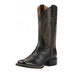 """Round Up Wide Square Toe 11"""" Cowgirl Boots Ariat"""