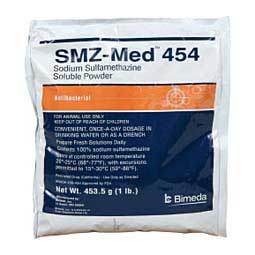 SMZ-Med 454 Sodium Sulfamethazine Soluble Powder Bimeda