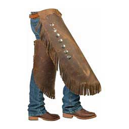 Seven Concho Work Chinks Weaver Leather