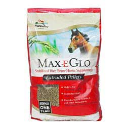 Max-E Glo Pellets Stabilized Rice Bran for Horses  Manna Pro