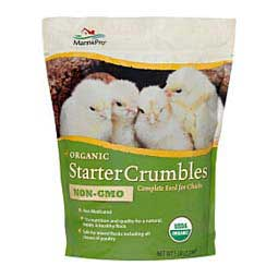 Organic Starter Crumbles Complete Feed for Chicks Manna Pro