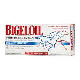 Bigeloil Quilted Poultice Leg Wraps for Horses Absorbine