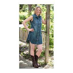 Renegade Sleeveless Snap Womens Dress Cowgirl Justice