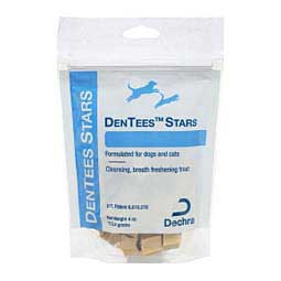 Dentees Stars Dental Treats for Dogs and Cats Dechra Veterinary