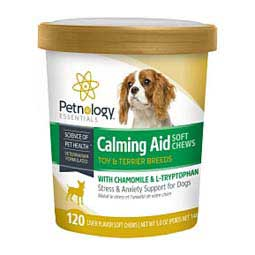 Calming Aid Soft Chews for Dogs Petnology Essentials