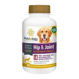 Hip & Joint Level 4 Vet Strength Support for Dogs Petnology Essentials