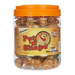 Chik'n Rice Dumbbells Dog Treats Pet'N Shape