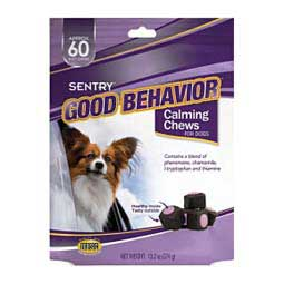 Sentry Good Behavior Calming Chews for Dogs Sergeant's