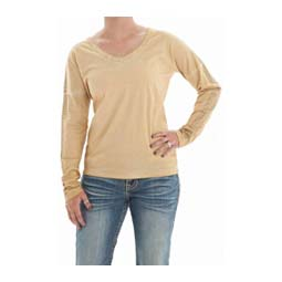 Ladies Long-Sleeve Jersey Tee Cowgirl Tuff Co