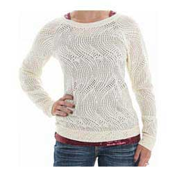 Swirl Lace Long-Sleeve Womens Tee Cowgirl Tuff Co