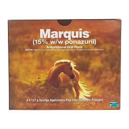 Marquis (15% w/w ponazuril) Antiprotozoal Oral Paste for Horses Merial