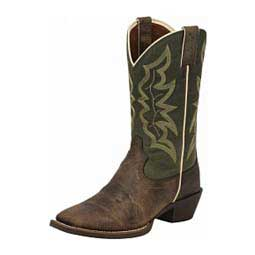 """Stampede Collection J124 Toe 12"""" Cowboy Boots Justin"""