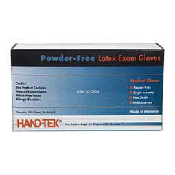 Powder-Free Latex Exam Gloves Hand-Tek