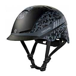 TX Horse Riding Helmet  - Black Camo Troxel