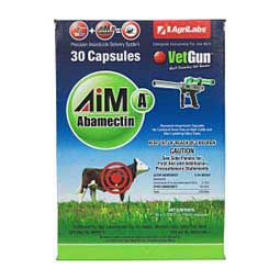 Aim-A Vetcaps (Abamectin) for Vetgun AgriLabs