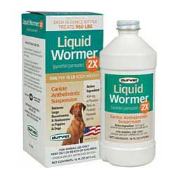 Liquid Wormer 2X for Dogs