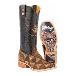 """Wild Thing 13"""" Cowgirl Boots Tin Haul"""